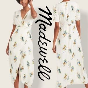 Madewell floral maxi dress NWOT